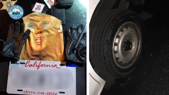 Man Wearing Trump Mask While Vandalizing Vehicle Arrested