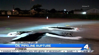 Crews Respond to Oil Discharge Found in Cypress