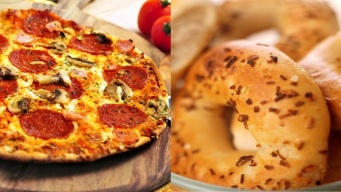 Pizza Day + Bagel Day: It's Happening