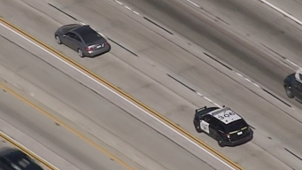 Mercedes Driver Leads CHP on Slow-Speed Chase