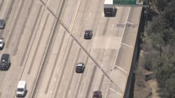 Pursuit Ends With Arrest on Freeway in San Fernando Valley