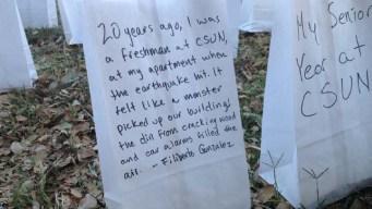 Northridge Quake Victims Remembered 20 Years Later