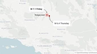 7.1 Magnitude Earthquake Rocks Southern California