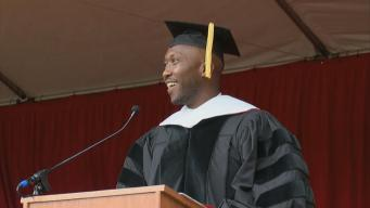 'House of Cards' Star Delivers Graduation Address at Saint Mary's