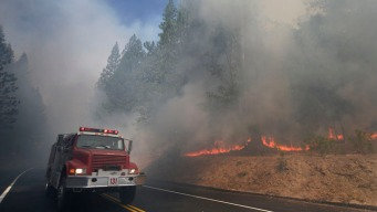 Rim Fire Prompts Unhealthy Air Warnings in Nevada