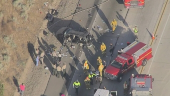 1-Year-Old Girl Dies In 14 Freeway Rollover Crash