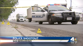 Police Ambushed in San Bernardino Shooting