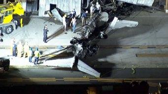 No Signs of Tire Damage in Santa Monica Plane Crash