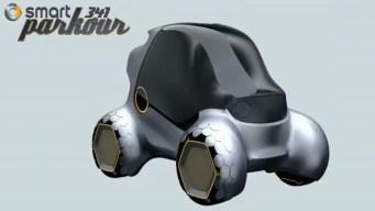 Parkour-Inspired Car Wins Design Challenge