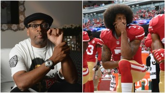 Spike Lee Promotes Rally for Colin Kaepernick in New York