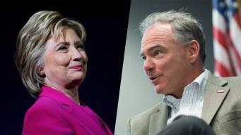 After Long Wait, Clinton Reveals Tim Kaine as VP Pick