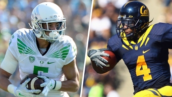 Football in Rio: Devon Allen, Jahvid Best
