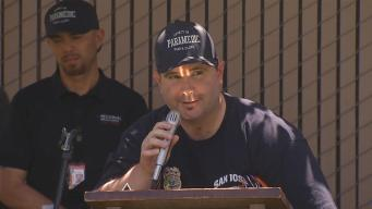 Bryan Stow Has Emotional Reunion With Former Unit