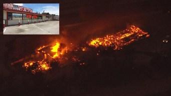 Brush Fire Destroys Historic Summit Inn Diner