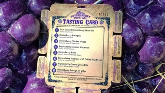Yep, Knott's Boysenberry Festival Tasting Cards Are a Whole Thing