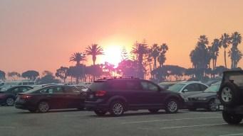 Santa Ana Winds Remain a Threat as Wildfires Burn