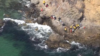 Teen Loses Arm After Boulder Falls on Him on Cliff in Laguna