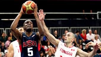 U.S. Men's Basketball Clobber Tunisia 110-63