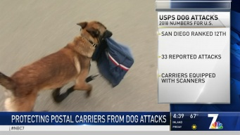 SD Among Top 15 Cities for Dog Attacks on Postal Carriers