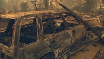 Calif. Fire Swells to 95 Sq. Mi.; 10 Percent Contained