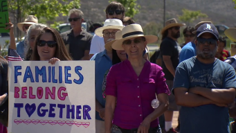 Protesters Call Separating Children from Parents 'Inhumane'