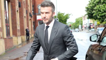 Walk It Like Beckham: Phone Costs Star Right to Drive