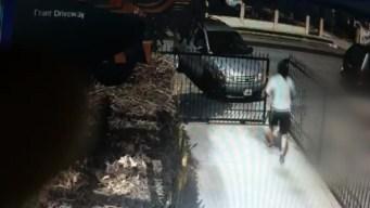 Burglar Rams Victim's Car to Escape Residence