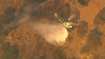 Watch: Firefighting Helicopters in San Dimas