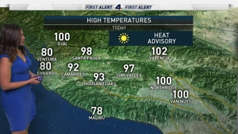 AM Forecast: Heat Wave Peaks