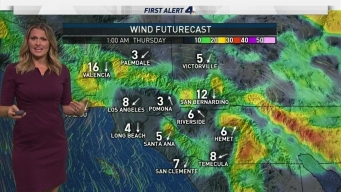 AM Forecast: Breezy For Thanksgiving