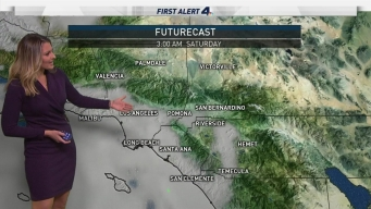 AM Forecast: Possible Light Showers