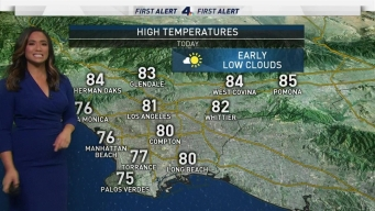 AM Forecast: Mild Conditions Ahead