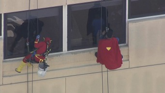 Superheroes to the Rescue at Oakland Children's Hospital