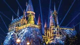 Snowfall to Enchant Christmas in The Wizarding World