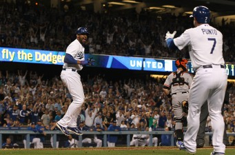 Dodgers Win Fourth Straight