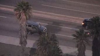 Two Passengers Jump Out of SUV During Dangerous Chase