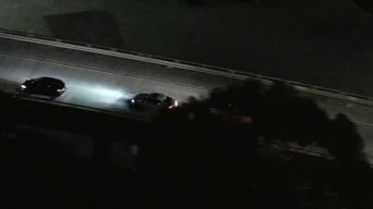 Police Chase Ends in Parking Structure