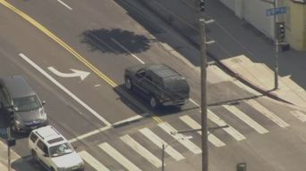Police Chase With SUV Ends With Arrest in South Los Angeles