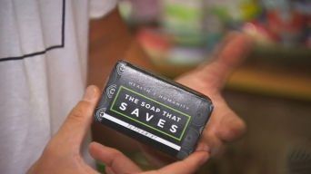College Student Uses Soap to Save Lives