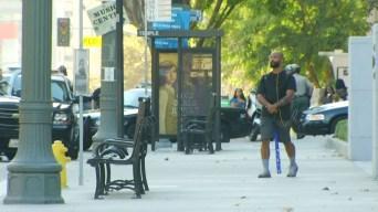 Bat-Wielding Man Taken Into Custody in Downtown LA