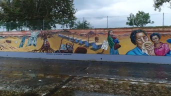 Artist Creates Murals to Help Connect Communities