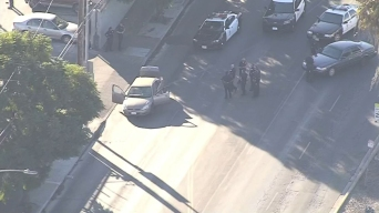 Shots Possibly Fired at Officers During South LA Pursuit