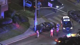High-Speed Pursuit Ends in Crash in Long Beach Neighborhood