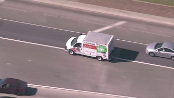 U-Haul Driver Leads Police Chase in Compton