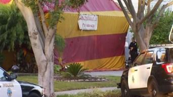Suspected Burglars Arrested in Tented Home