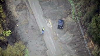 Mud-Covered Malibu Road to Remain Closed Into Weekend