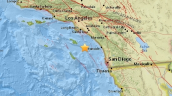 3.2 Earthquake Shakes Off Coast of Avalon