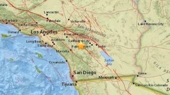 3.2-Magnitude Earthquake Shakes Valle Vista