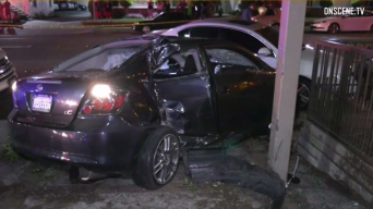 DUI Suspect Slams Into Four People Outside Bellflower Bar