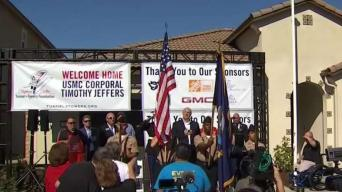 Community Comes Together to Surprise Veteran With a New Home